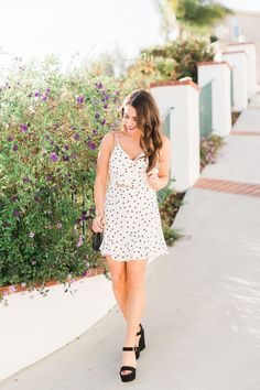 Cute polka dot set /