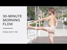 30 Minute Morning Flow Yoga With Tim Senesi - YouTube