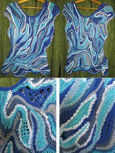 Inspiration Schema freeform crochet / Картинка