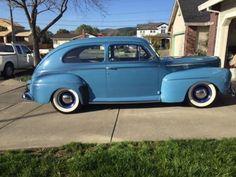 1942 Ford Tudor (CA) - $45,000 Please call Jack @ 707-326-9250 to see this Tudor.
