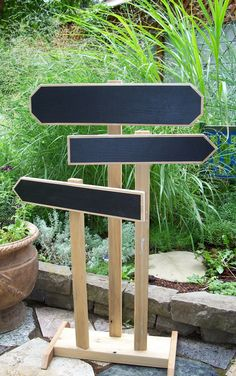 Chalkboard Wedding Signs Set of Three Event Signs by MiscKDesigns, $68.00
