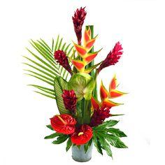 Fête des mères, colis de fleurs en vrac exotiques, Exotico
