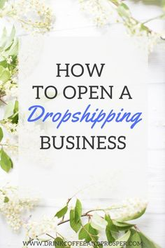 How to Open a Dropshipping Business-Full Step by Step Instructions to have you d - Dropshipper - Check out what dropshippers are discussing. - How to Open a Dropshipping Business-Full Step by Step Instructions to have you dropshipping in no time! Work From Home Jobs, Make Money From Home, Make Money Online, How To Make Money, Business Planning, Business Tips, Online Business, Business Writing, Financial Planning