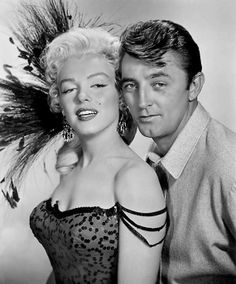 Marilyn Monroe And Robert Mitchum, River of No Return