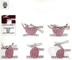 point noisette Plaid Crochet, Gilet Crochet, Crochet 101, Crochet Amigurumi, Crochet Chart, Crochet Scarves, Knitting Patterns, Crochet Patterns, Crochet Stitches For Beginners