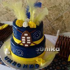 Zulu Traditional Wedding, Traditional Cakes, Traditional Decor, Tsonga Traditional Dresses, African Traditional Dresses, African Wedding Cakes, African Weddings, African Outfits, African Clothes
