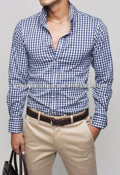 Camisa de cuadros men classic fashion - Szukaj w Google