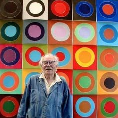 Terry Frost Exhibition @ Leeds City Art Gallery, GO SEE IT! Fantastic work created by a fantastic man! Sonia Delaunay, Artist Art, Artist At Work, Post Painterly Abstraction, Mobile Art, Abstract Painters, Abstract Art, English Artists, Portraits