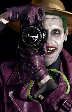 Jared Leto Joker, The Killing Joke Marvel Vs, Marvel Dc Comics, Gotham City, Comic Movies, Comic Books, Comic Art, Joker Y Harley Quinn, Jared Leto Joker, Nananana Batman