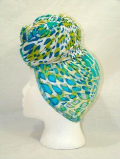 Beautiful Blue Multicolor Leopard Print Knit by treasureeutopia, $27.00