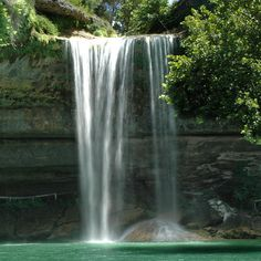 Hamilton Pool Preserve ~ Located about 23 miles west of Austin, Hamilton Pool is an extraordinary natural pool that formed thousands of years ago when the dome of an underground river collapsed. During the hot summer months, it's a popular swimming spot to many of the local residents.