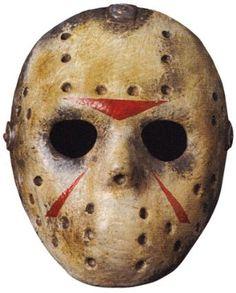 Rubies Adult Dlx EVA Jason Hockey Mask Halloween Supplies Masks Spirit