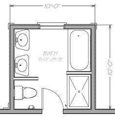 8x8 bathroom layout google search