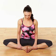 Try doing these 10 simple yoga poses during your favorite TV shows. They'll increase your flexibility and get your blood flowing.