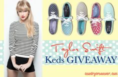 Taylor Swift Keds Giveaway