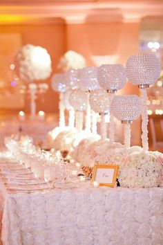all white #wedding #decor