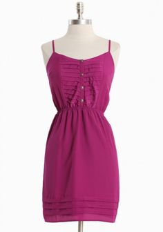 spring time dress. would be a cute bridesmaid dress. Different color though...