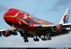 Boeing 747-4H6 aircraft picture