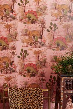 Dinosauria, Plaster tapet från House of Hackney® - barntapet dinosaurier Fraktfritt online