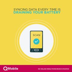 Did you know syncing data every time is draining your battery?  Though syncing is helpful backing up your important data such as emails and calendar but constantly backing up even the things you don't need is draining your battery.