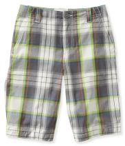 Kids' Plaid Flat-Front Shorts PS From Aéropostale