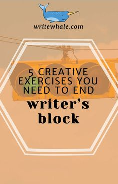 End writer's block with these creative exercises. Click through to get a free writing challenge that will help you overcome writer's block. Writing tips | creative thinking exercises | writer's block | how to write a novel