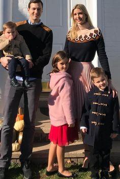 Ivanka Trump wearing J.Crew Fair Isle Turtleneck Sweater