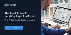 The industry's best landing page solution for optimizing your ad spend. Build, Integrate, Collaborate & Optimize.
