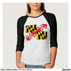 Flag of Maryland Shirts