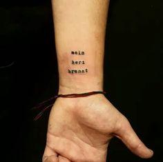 rammstein tattoo arm