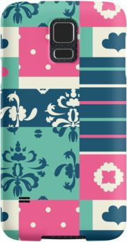 Mobile case. Artwork: Thoughtful mixish by Anna Sköld at Lumumma infodesign.Check out more products with this artwork on at www.redbubble.com