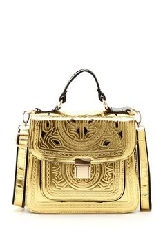 Rock Diva Red Kiss Colima Etched Handbag by Non Specific on @HauteLook