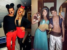 Easy Homemade Halloween Costumes for Couples | Halloween Costumes for Couples: Will you be the trick to my treat ...