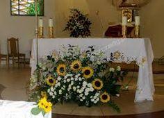 Resultado de imagen de dekoracja kwiatowa kościoła
