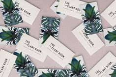 The Plant Room Business Card Design | Fivestar Branding – Design and Branding Agency & Inspiration Gallery