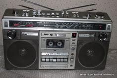 Vintage Hitachi Boombox Radio W/ Cassette For Parts Or Repair Radios, Receptor, Radio Wave, Tape Recorder, Record Players, Hifi Audio, Boombox, Old Tv, Audio Equipment