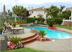 Having a pool sounds awesome especially if you are working with the best backyard pool landscaping ideas there is. How you design a proper backyard with a pool matters. Backyard Pool Landscaping, Backyard Pool Designs, Small Backyard Pools, Modern Backyard, Swimming Pools Backyard, Swimming Pool Designs, Outdoor Pool, Backyard Ideas, Landscaping Ideas