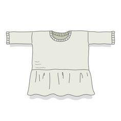 Fiche technique en français permettant de tricoter Benjamin, un pull à basque, tout en jersey endroit, avec explications détaillées et schéma pour les dimensions.Niveau de tricot débutante avancée ou intermédiaire, le pull se tricote en circulaire. Cela peut-être l'occasion de s'essayer à cette technique!Tailles proposées : S - (M/L) - XLFils proposés: alpaga et kidsilk Drops, tricotés ensemble, 1200 - 1200 - 1350 mètre de chaque fil.Aiguilles à tricot...