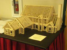 Balsa Wood Model House | Flickr - Photo Sharing!