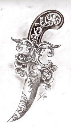 Victorian Dagger by ladygreytattoo on deviantART
