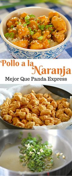 Si te gusta comida china, entonces te encantara este pollo a la naranja que… - Recipes, tips and everything related to cooking for any level of chef. Comida Diy, Asian Recipes, Healthy Recipes, Chinese Food Recipes Chicken, China Food, Orange Chicken, I Love Food, Main Dishes, Chicken Recipes