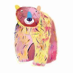 Bear Art Print by Ollie Lett