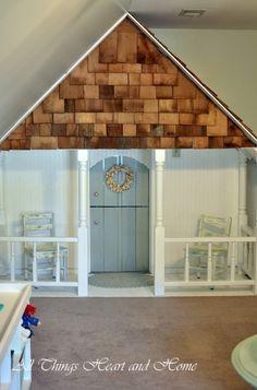closet playhouse, soooo cute