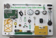 Busy board Sensory Board Fidget blanket alternative Elderly