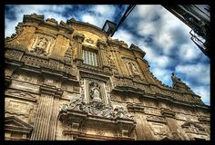 salento - gallipoli, facciata della cattedrale by Paolo Margari, via Flickr Italy Landscape, Landscape Art, Art And Architecture, Louvre, Park, World, City, Building, Amazing