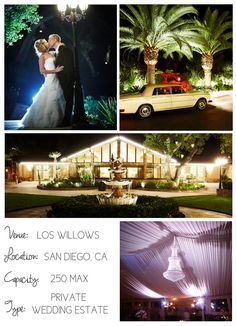 Southern California Wedding Venues on I Do Venues featuring Los Willows shot by S-B Photo.
