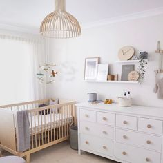 Airplane baby mobile for neutral nursery decor
