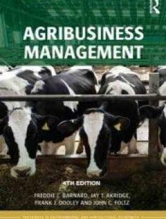 Agribusiness Management, 4 edition - Free eBook Online