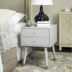 Found it at Wayfair - Ables 2 Drawer Nightstand