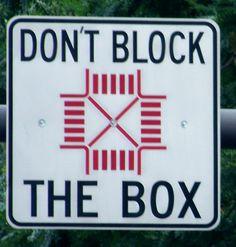 Don't Block The Box - Philadelphia, PA.